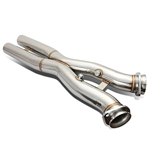For Chevy Corvette C6 LS2 / LS3 V8 Stainless Steel Catback Exhaust X-Pipe