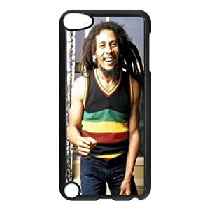 linfenglin Customized Print Bob Marley Pattern Hard Case for iPod Touch 5