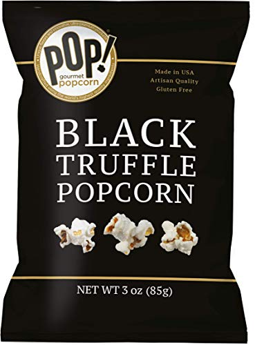 - Pop Gourmet Popcorn Popcorn, Black Truffle, 3 Ounces