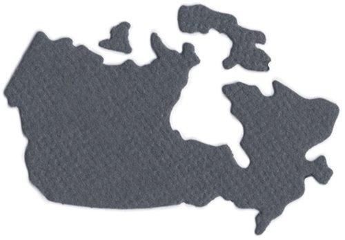 We R Memory Keepers  KS-0866 2 by 2-Inch Dies, Canada (Die Revolution Alphabet)
