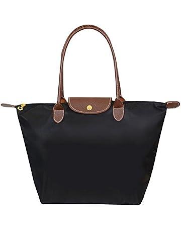 3249258348c69 ZhengYue Women's Stylish Waterproof Zipper Tote Bag Handbag Nylon Travel  Shoulder Beach Messenger Bags Ladies Shopping