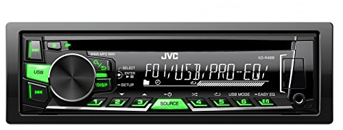 JVC R469E Car Radio CD Autoradio Radio - 4x50Watt MP3 USB KD-R469E