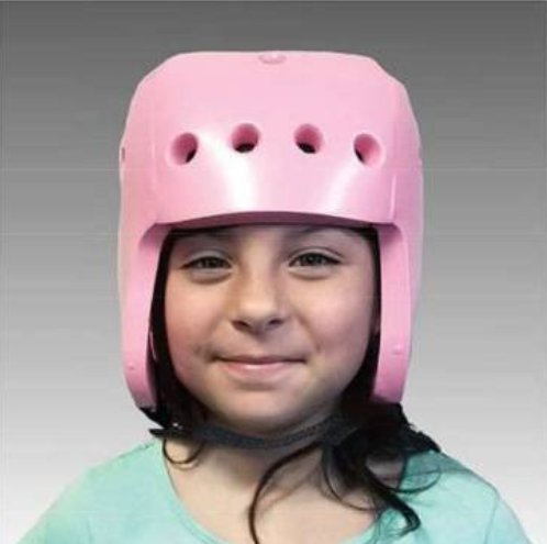 Image of Adult Helmets ALIMED 70536 Helmet Full Coverage Pink