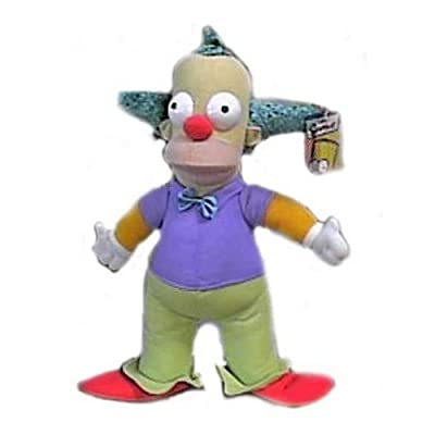"The Simpsons 14"" Krusty the Clown Plush Doll: Toys & Games"