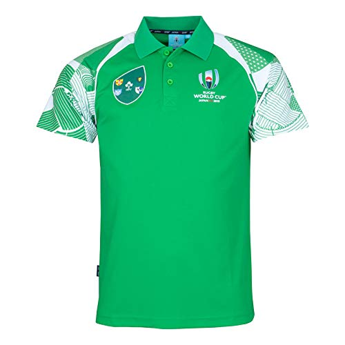 Rugby World Cup 2019 - Polo - para Hombre Verde Verde Xlarge ...
