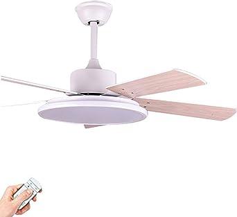 Moderno Bajo Perfil Ventilador Luz, Regulable Doble-cara Aspa Del Ventilador Del Lámpara Ventilador De Techo Verano ...