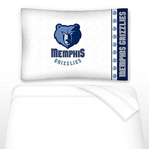 NBA Memphis Grizzlies Not Applicabe, White, Twin