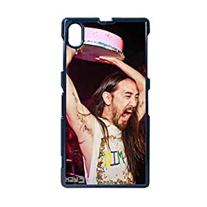 With Steve Aoki Personalised Back Phone Cover For Girly For Sony Xperia Z1 Choose Design 3