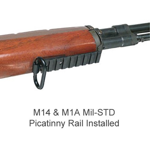 Accessory MIL-STD-1913 (Picatinny) Rail for Springfield Armory M1A (Wooden  Stock)