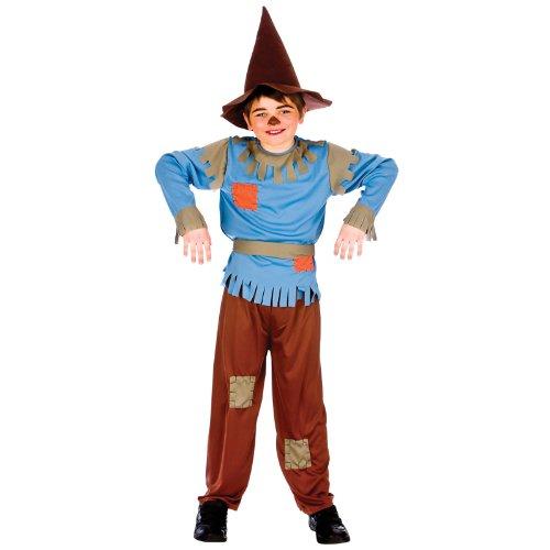 Scarecrow Boy (5-7) Kids Fancy Dress Book Week Costume