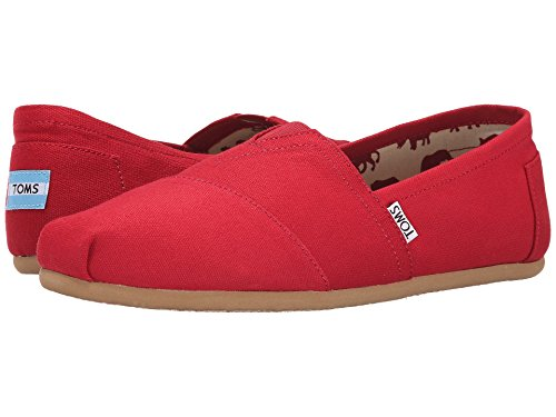 TOMS Women's Classics Red -