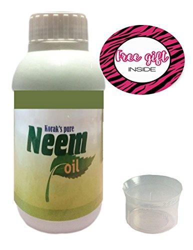 digi2cart Korak's Pure Neem Oil For Plants(8 OZ) With Measuring Cup(0.8 OZ) ...