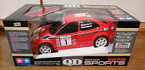 TAMIYA 1/10 QDスポーツ 三菱ランサーエボリューションⅥ WRC