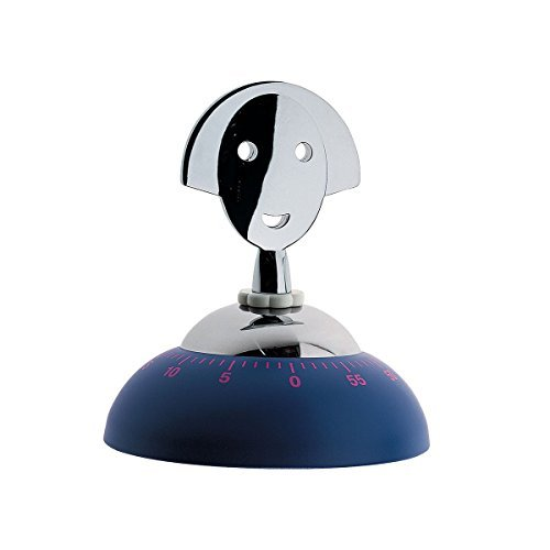Anna Time Kitchen Timer by Alessando Mendini Color: Blue by Alessi
