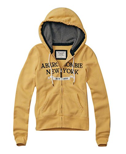abercrombie-fitch-womens-logo-full-zip-hoodie-yellow-small