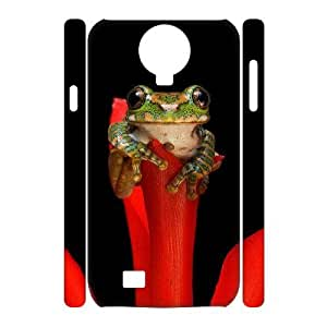 Frog Customized 3D Cover Case for SamSung Galaxy S4 I9500,custom phone case ygtg531761
