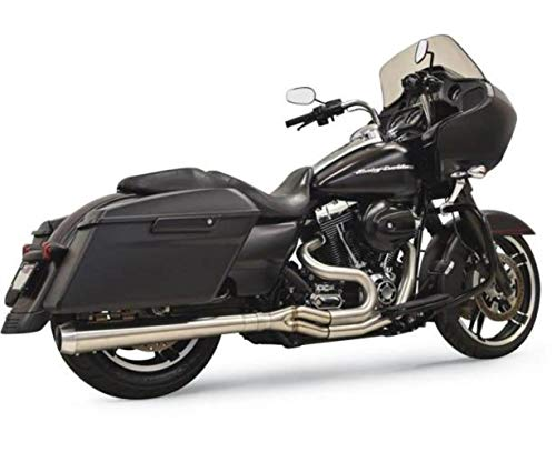 Bassani Manufacturing Road Rage 3 2 into 1 Exhaust Stainless Steel Long ()