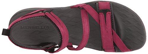 Merrell Women's Siren Strap Q2 Athletic Sandal, Beet Red, 8 M US by Merrell (Image #8)