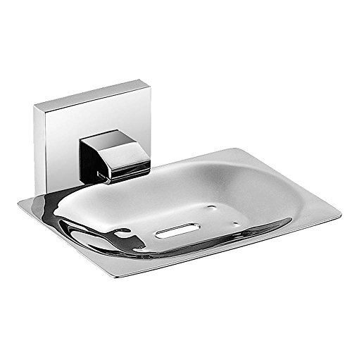 YANXH Wall Mounted Square 304 Stainless Steel Soap Stand Single Layer Soap Dish Brushed for Bathroom Washroom Bath (Green Enameled Turtle)