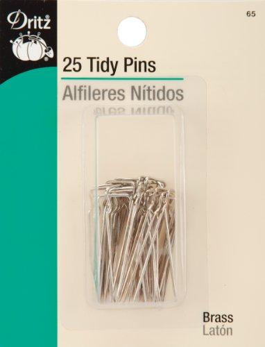 Tidy Pins - Dritz 65 25-Piece Tidy Pins