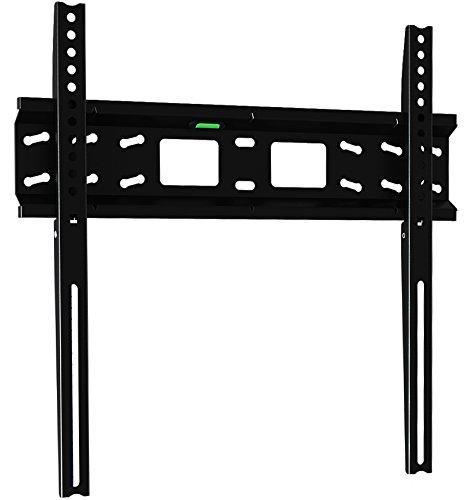Invision® Ultra-dünne TV Wandhalterung für 32 bis 55 Zoll 3D, LED, LCD-Bildschirme - Universal & Max. VESA 400 - *Bitte überprüfen Sie Ihre TV-VESA-Montagebohrungen vor Dem Kauf* (400-F)