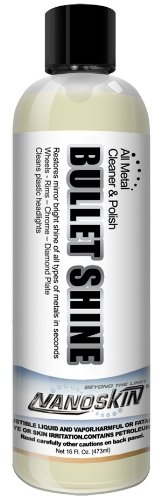 Nanoskin (NA-SBT16) Bullet Shine All Metal Cleaner and Polish - 16 oz.