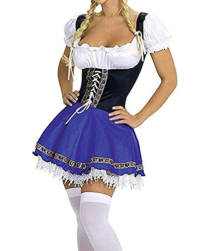 M_Eshop Women's Oktoberfest Costume Bavarian Beer Girl
