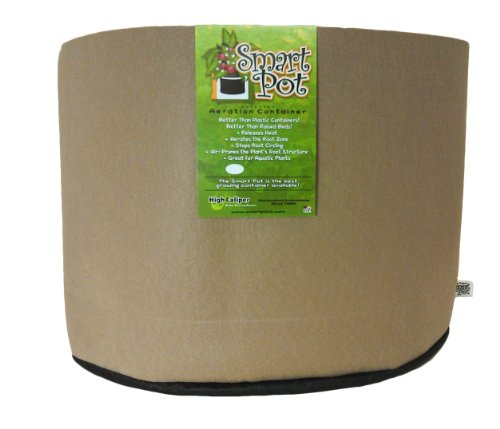 (Smart Pots 45-Gallon Smart Pot Soft-Sided Container, Tan)
