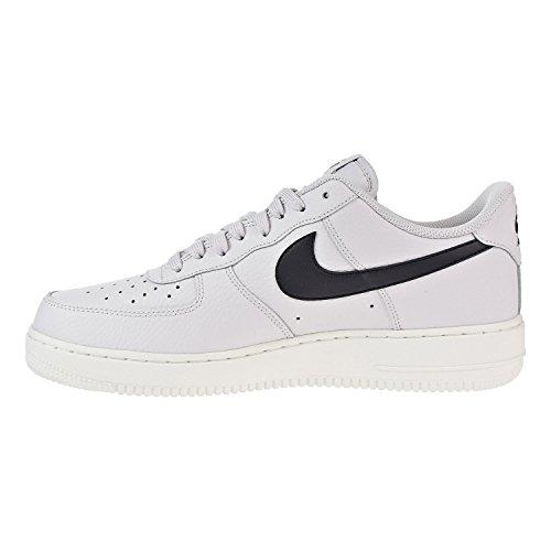 Nike Herren Air Force 1 07 Basso-alto Vasto Grigio-nero-sommità Bianco (aa4083-008)