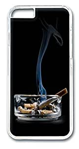 ACESR Cigarettes On Ashtray Hipster iPhone Case PC Hard Case Back Cover for Apple iPhone 6 4.7inch