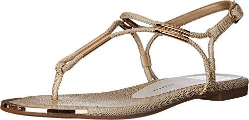 Dolce Vita Women's Marly Flat Sandal,Platinum,8.5 B(M) - Sandals Strap Flat Gladiator