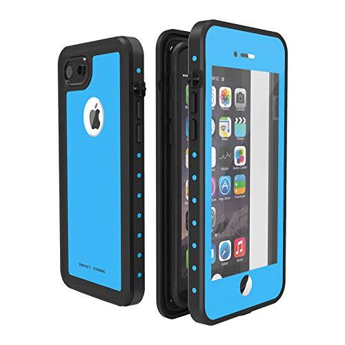 537afcd59bb ImpactStrong Funda Impermeable iPhone 7/8, [ID de Huellas Dactilares  Compatible] Slim