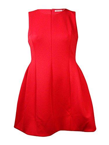 calvin klein a line pleated dress - 2