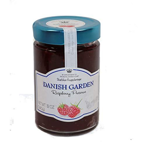 Danish Garden Raspberry Preserves BUNDLE 5 Jars 12oz Each