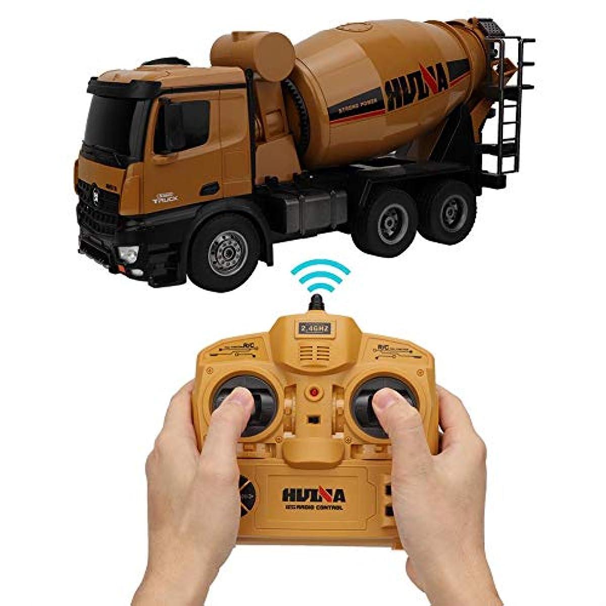 [해외] 리모트 컨트롤차,아이1:14 10채널 리모트 컨트롤차 모의 믹서 트럭 기프트 상품