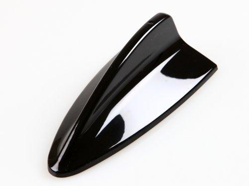 DELTALIP BMW M3estilo aleta de tiburón antena Dummy Antena pintado de negro