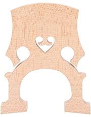 Cello Bridge, Maple Wood Cello Bridge Replacement Parts for 4/4 3/4 Cellos