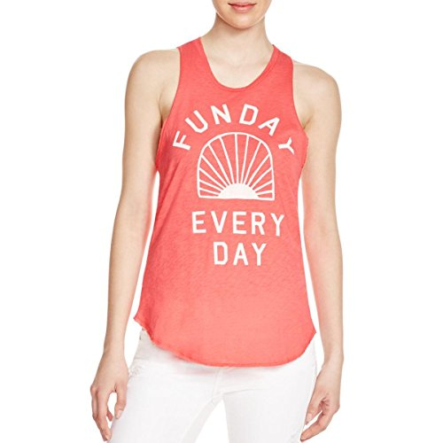 Sundry Women's Funday Tanktop, Hibiscus, 3