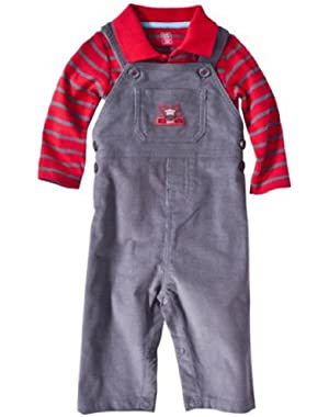 Just One You Made By Carter's Infant Boys 2pc Overall Set Wild About Mom