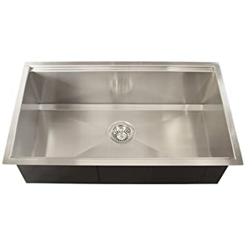 Ticor royal stainless steel 16 gauge square undermount kitchen sink ticor royal stainless steel 16 gauge square undermount kitchen sink workwithnaturefo