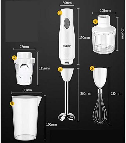 250W Mélangeur À Main, Mélangeur À Main Mélangeur De Ménage Robot Électrique Kitchen Machine Baby Food Maker Fruits Légumes