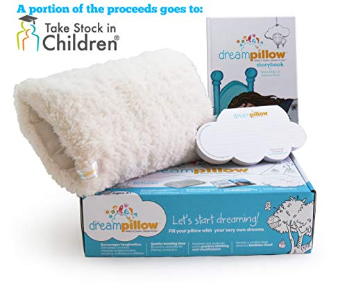 - Original Dream Pillow: Super Soft Plush Toy Cuddle Pillow You Can Hug. Promotes a Better Sleep Routine & Comforting Companion. INCLUDES Pillow, Storybook & 60 Dream Wish Notes. Award Winner