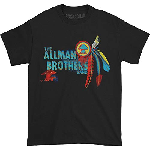 Brothers Merchandise Allman - Allman Brothers Men's Macon GA Where It Began T-shirt Medium Black