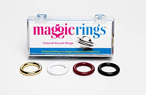 MAGGIE RINGS for Maggie Snaps - allows color coordination with fabrics. Magnets not included.
