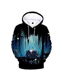 MIYECC Boys 3D Printed Hollow Knight Hoodie Sweatshirts