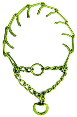 Platinum Pets Large Pinch Dog Collar Medium, 20-Inch, Corona Lime