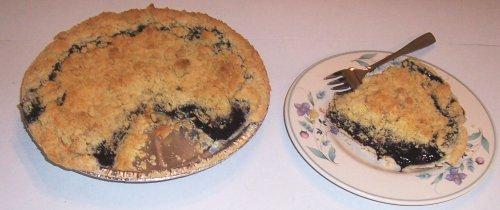 Scott's Cakes Blueberry Crumb Pie