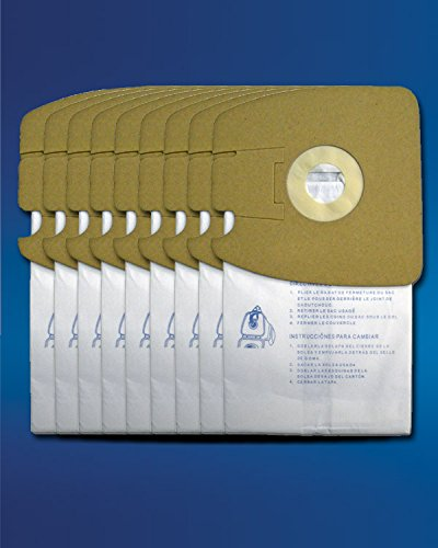EnviroCare Replacement Micro Filtration Vacuum Bags for Eureka Style MM Eureka Mighty Mite 3670 and 3680 Series Canisters 9 Bags by EnviroCare (Image #1)