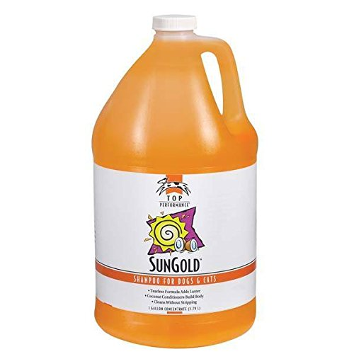 (Sun Gold Shampoo Professional Concentrate Gallon Tearless Formula)