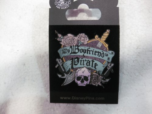 Disney Pin Pirates Of The Caribbean My Boyfriend Is A Pirate